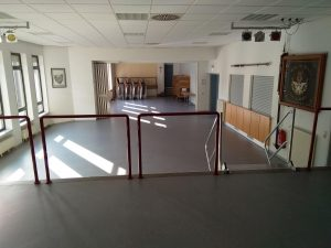Kompletter Saal (von Bühne 1)