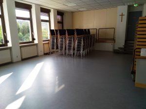 Saal 2 (Blick auf Bühne 2)